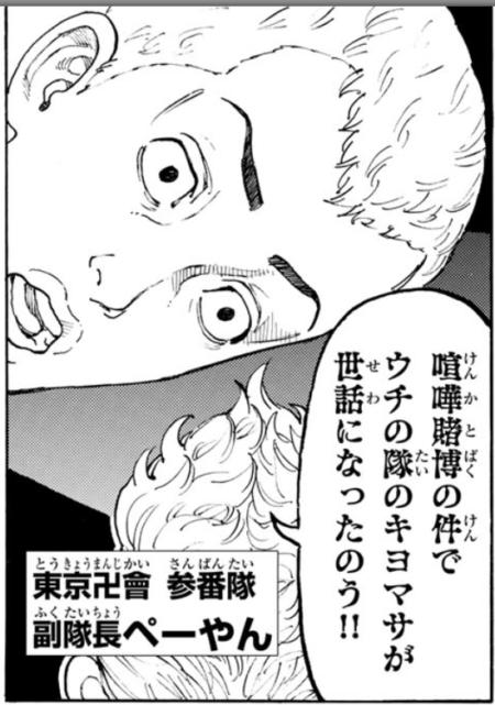 ペーやん(参番隊副隊長)