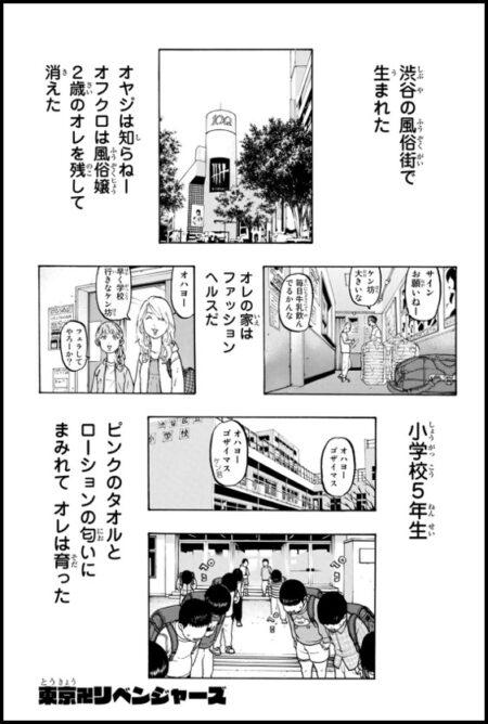 東京卍リベンジャーズのドラケンの生まれ